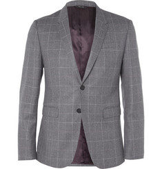 Paul Smith London Kensington Window Pane-Check Wool Blazer