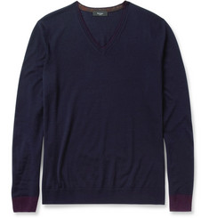 Paul Smith London V-Neck Merino Wool Sweater