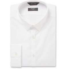 Paul Smith London Kensington Slim-Fit Dobby Cotton-Blend Shirt