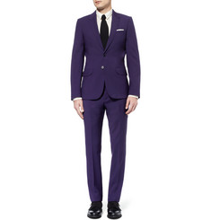 PS by Paul Smith Slim-Fit Wool-Blend Suit Trousers