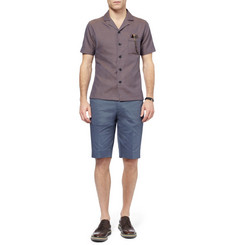 PS by Paul Smith Slim-Fit Cotton-Blend Shorts
