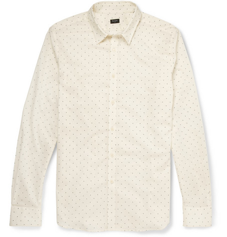 PS by Paul Smith Slim-Fit Star-Print Cotton Shirt