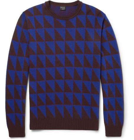 PS by Paul Smith Patterned Knitted Sweater