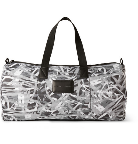 Marc by Marc Jacobs Printed Padded Mesh Duffle Bag