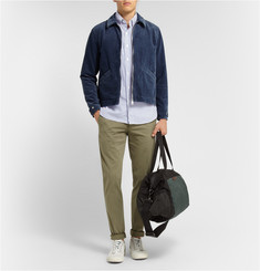 Marc by Marc Jacobs Two-Tone Canvas and Shell Holdall