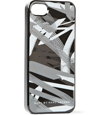 Marc by Marc Jacobs Graffiti-Print Rubberised iPhone 5 Case