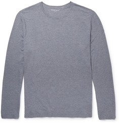 Derek Rose - Long-Sleeved Stretch Micro Modal T-Shirt