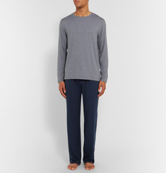Derek Rose Long-Sleeved Stretch-Micro Modal T-Shirt