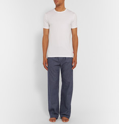 Derek Rose Check Cotton-Flannel Pyjama Trousers