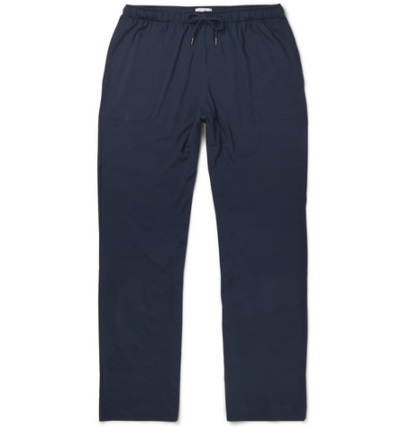 Basel Stretch Micro Modal Jersey Lounge Trousers by Derek Rose