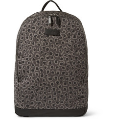Gucci Leopard-Print Canvas Backpack