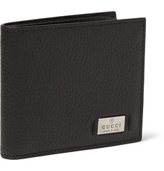 Gucci Full-Grain Leather Billfold Wallet
