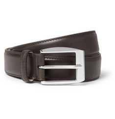 Gucci Brown 3cm Leather Belt