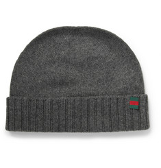 Gucci Knitted Cashmere Beanie Hat