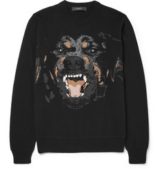 Givenchy Rottweiler-Intarsia Sweater