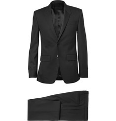Givenchy Black Slim-Fit Wool-Blend Suit