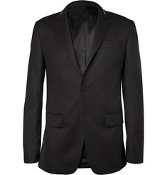 Givenchy Zip-Embellished Wool Blazer