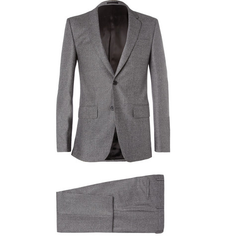 Givenchy Grey Slim-Fit Woven-Wool Suit
