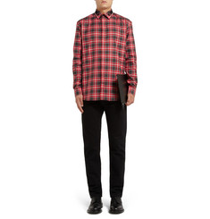Givenchy Star-Trim Contrast-Collar Shirt