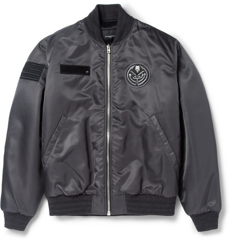 Givenchy Patch-Detailed Bomber Jacket