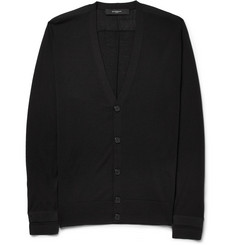 Givenchy Fine-Knit Wool Cardigan