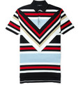 Givenchy - Striped Cotton Polo Shirt