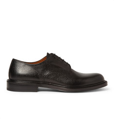 Givenchy Pebbled Leather Derby Shoes
