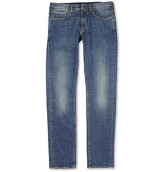 Incotex Slim-Fit Washed Denim Jeans