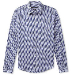 Gucci Duke Slim-Fit Printed Cotton Shirt