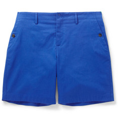 Gucci Regular-Fit Cotton-Blend Gabardine Shorts