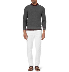 Gucci Waffle-Knit Wool and Cashmere-Blend Sweater