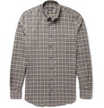 Gucci Check Woven-Cotton Shirt