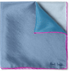 Paul Smith Shoes & Accessories Printed Silk Pocket Square