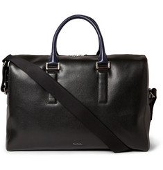 Paul Smith Shoes & Accessories Textured-Leather Holdall Bag