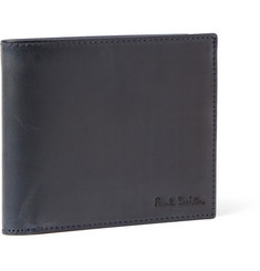 Paul Smith Shoes & Accessories Burnished-Leather Billfold Wallet