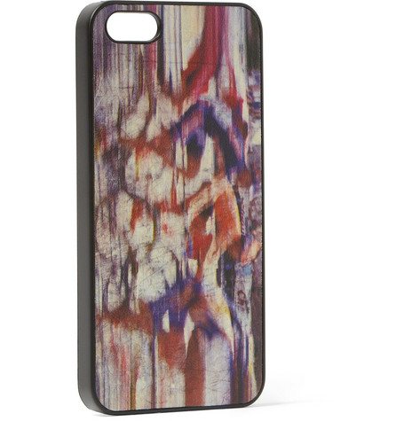 Paul Smith Shoes & Accessories Printed Leather iPhone 5 Case