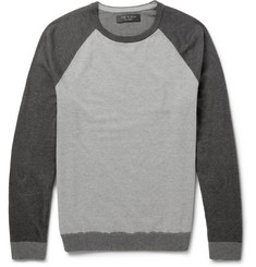 Rag & bone Panelled Cotton Sweater
