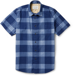 Rag & bone Check Cotton Short-Sleeve Shirt