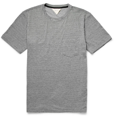 Rag & bone Perfect Striped Cotton-Jersey T-Shirt