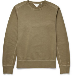 Rag & bone Military Loopback Cotton-Jersey Sweatshirt