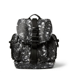 Givenchy Camo Flower-Print Leather Backpack