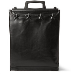 Givenchy Star-Embossed Leather Tote Bag