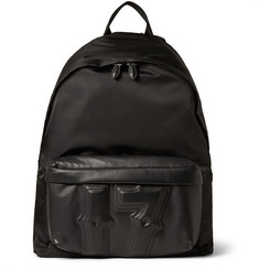 Givenchy 17 Leather and Nylon Backpack