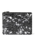 Givenchy - Camo Flower-Print Leather Pouch