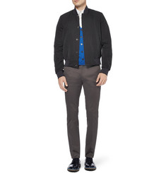 Paul Smith Technical Twill Bomber Jacket