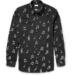 Paul Smith Note-Print Cotton Shirt
