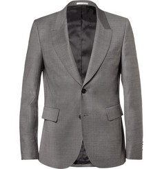 Paul Smith Grey Wool-Blend Suit Jacket