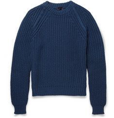 Lanvin Chunky Rib-Knit Merino Wool Sweater