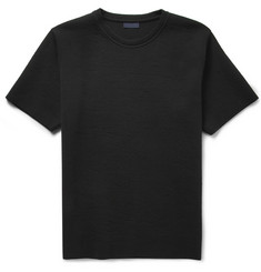 Lanvin Bonded Cotton-Blend Jersey Sweatshirt