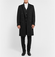 Lanvin Double-Breasted Felted Wool and Cashmere-Blend Overcoat